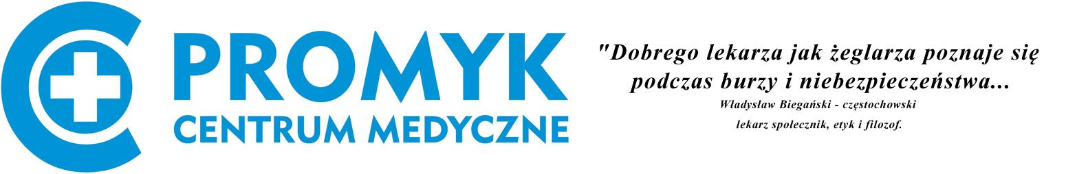 Logo Centrum Medyczne PROMYK